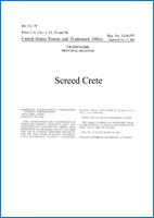 CERTIFICATE-SCREED-CRETE